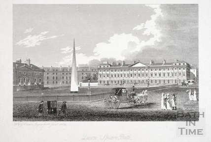 Queen Square, Bath 1804