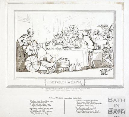 Comforts of Bath, Plate 9 1798, republished 1857