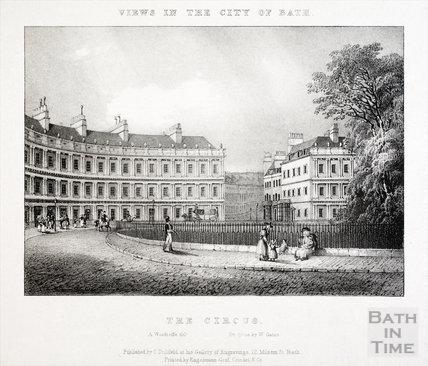 The Circus, Bath 1829
