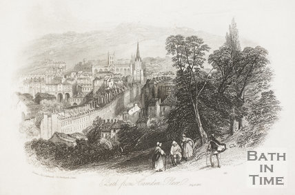 Bath from Camden Place 1841