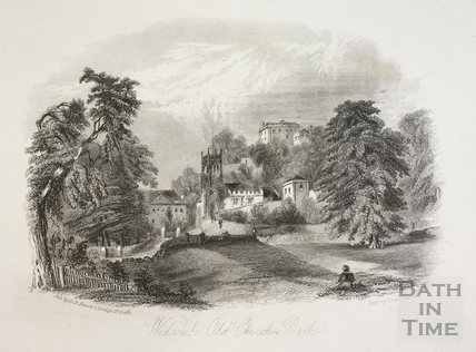 Widcombe Old Church, Bath 1844