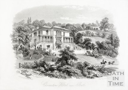 Claverton Hotel near Bath c.1815