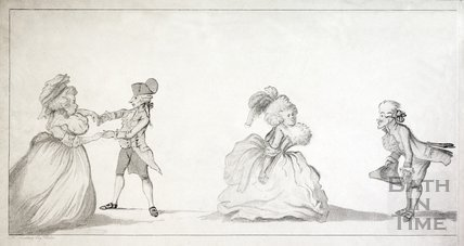 A Long Minuet as Danced at Bath 1787