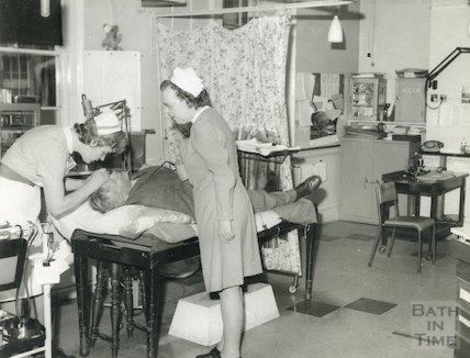 Bath Eye Infirmary, Belvedere - surgery, c.1960s
