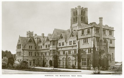 Downside Abbey, the Monastery, West Wing, c.1950s?