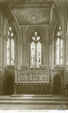 Downside Abbey, Lady Chapel, c.1950s?