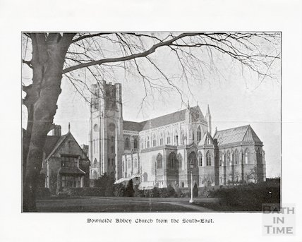 Downside Abbey from the South East, c.1930s?