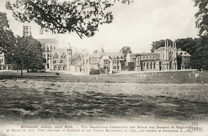 Downside Abbey, c.1910