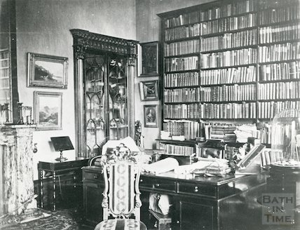 Study in Vellore House, c.1910