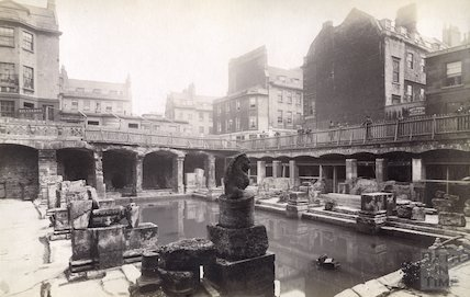 Roman Great Bath, c.1890