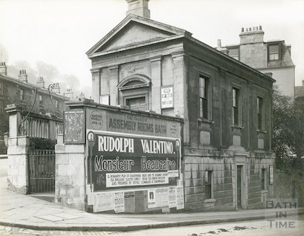Temperance Hall, on the corner of St Mark's Road and Claverton Street, 1924
