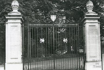 Gateway to Kingswood School, 1969