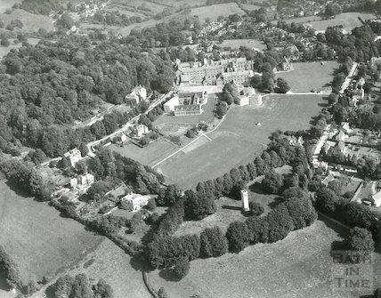 Kingswood School (aerial view), 1971