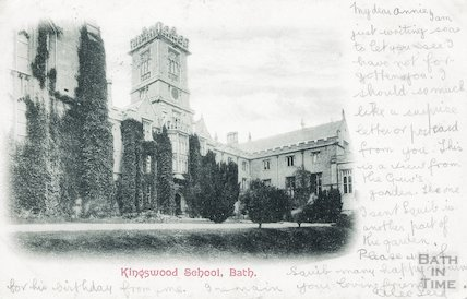Kingswood School, Bath, 1902