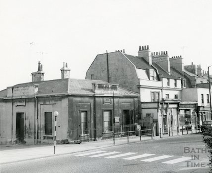 Southern Dispensary, Claverton Buildings, April 1965