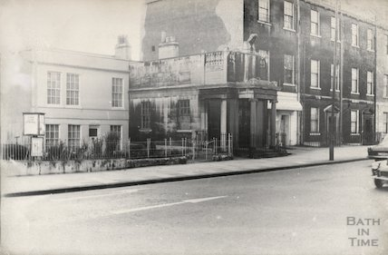 Former Ear and Eye Hospital, Walcot Terrace, London Road, Bath, 1965