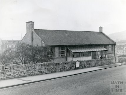 Oldfield Park Boys' School, Wells Road, Bath, c.1960s