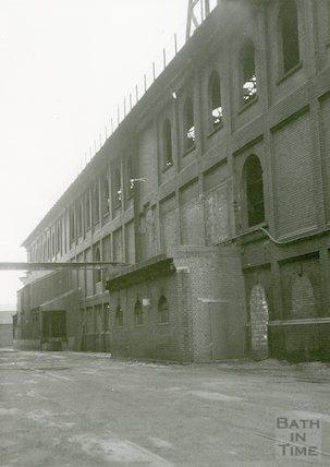 Bath Gas Works, Old Retort House, June 1971