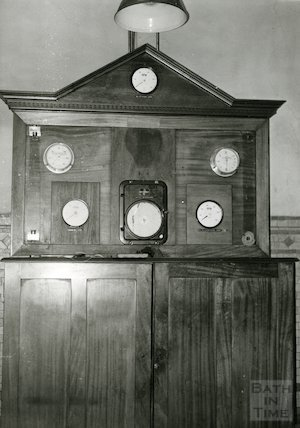 Bath Gas Works, district pressures control panel, June 1971