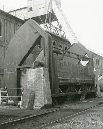 Bath Gas Works, coal tipper, June 1971