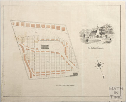 Plan of Bathwick Cemetery