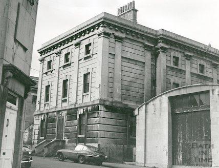 Old Prison, Stuart Place, Twerton, 1968