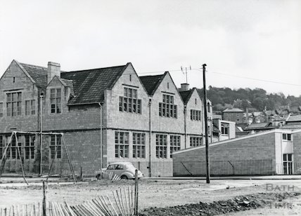 Widcombe Primary School (side and rear view), c.1960s?