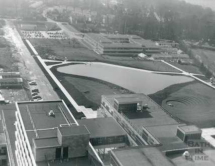 1971 Bath University of Technology - aerial view