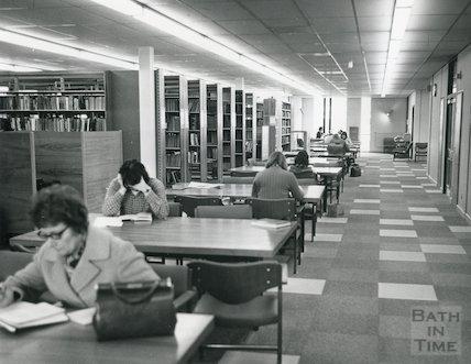 Bath University Library, 1971