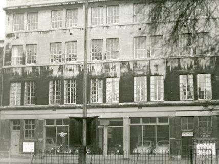 Longacre Hall, Walcot, 1969