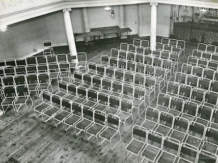 The Octagon seating, 1968