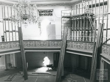 The Octagon interior, 1979