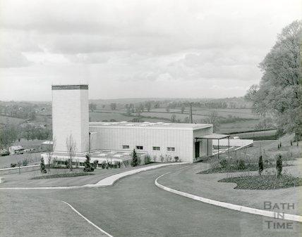 Bath Crematorium, Haycombe c.1965-8