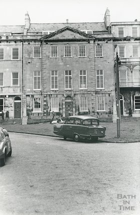 Hermitage House, Portland Place, Bath, c.1960s