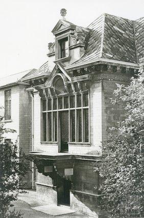 Hayesfield School, Bath - main entrance, c.1960s