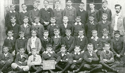 South Twerton Boys, Group I, c.1906