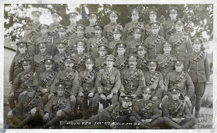 Mounted Section of 2nd 2nd Wessex Royal Engineers, c.1915