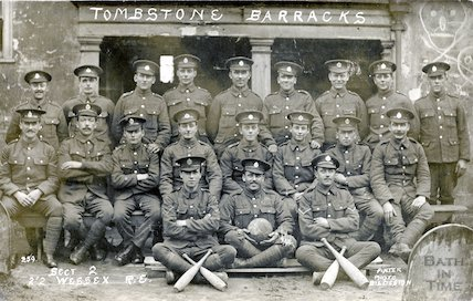 Section 2 of the 2nd 2nd Wessex Royal Engineers, c.1915
