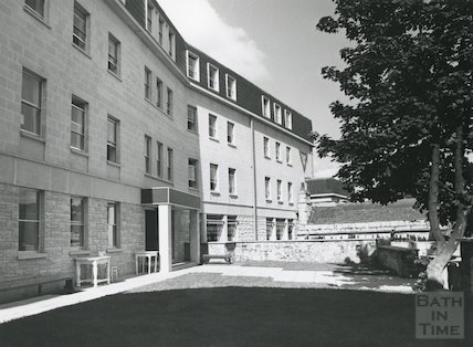 Y.M.C.A. new building, Broadstreet Place, Bath, July 1973