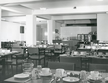 Y.M.C.A. new building interior, Broadstreet Place, July 1973