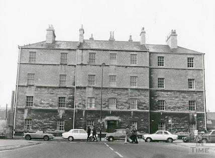 St. John Buildings, Avon Street December, 1973