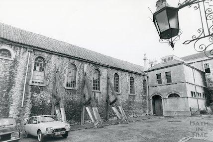 Christchurch Hall, Julian Road, 1977