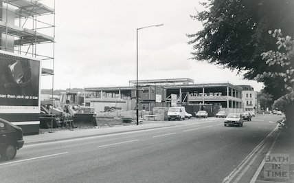 The Pines Ministry of Defence new building, Lower Bristol Road, 1988