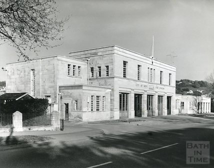 Bath Fire Station, Cleveland Bridge, Bathwick Street, c.1980s