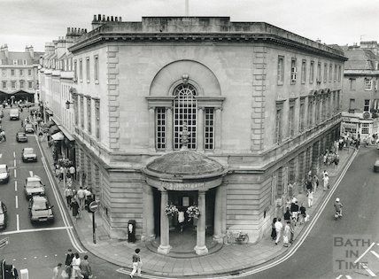 Bath Post Office, New Bond Street, August, 1991