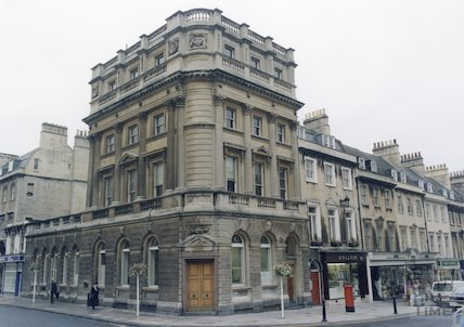 Environmental Centre (formerly National Westminster Bank), George Street and Milsom Street, 1993