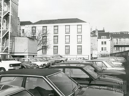 Francis Hotel new extension, May 1980