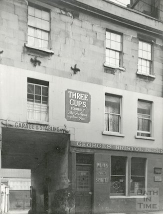 Three Cups Inn, formerly the Pelican, c.1936