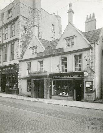 Saracen's Head, 42, Broad Street, Bath c.1932