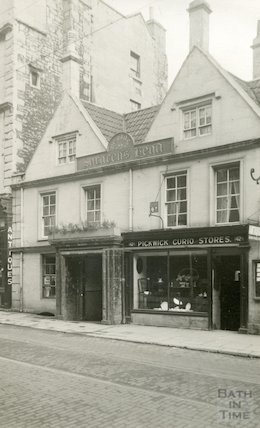 Saracen's Head, 42, Broad Street, Bath c.1932